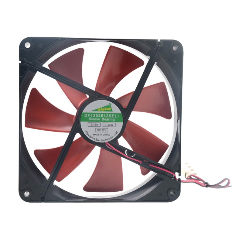 Silent Quiet 140mm PC Case Cooling Fans 14cm DC 12V 4D Plug Computer Cooler A57
