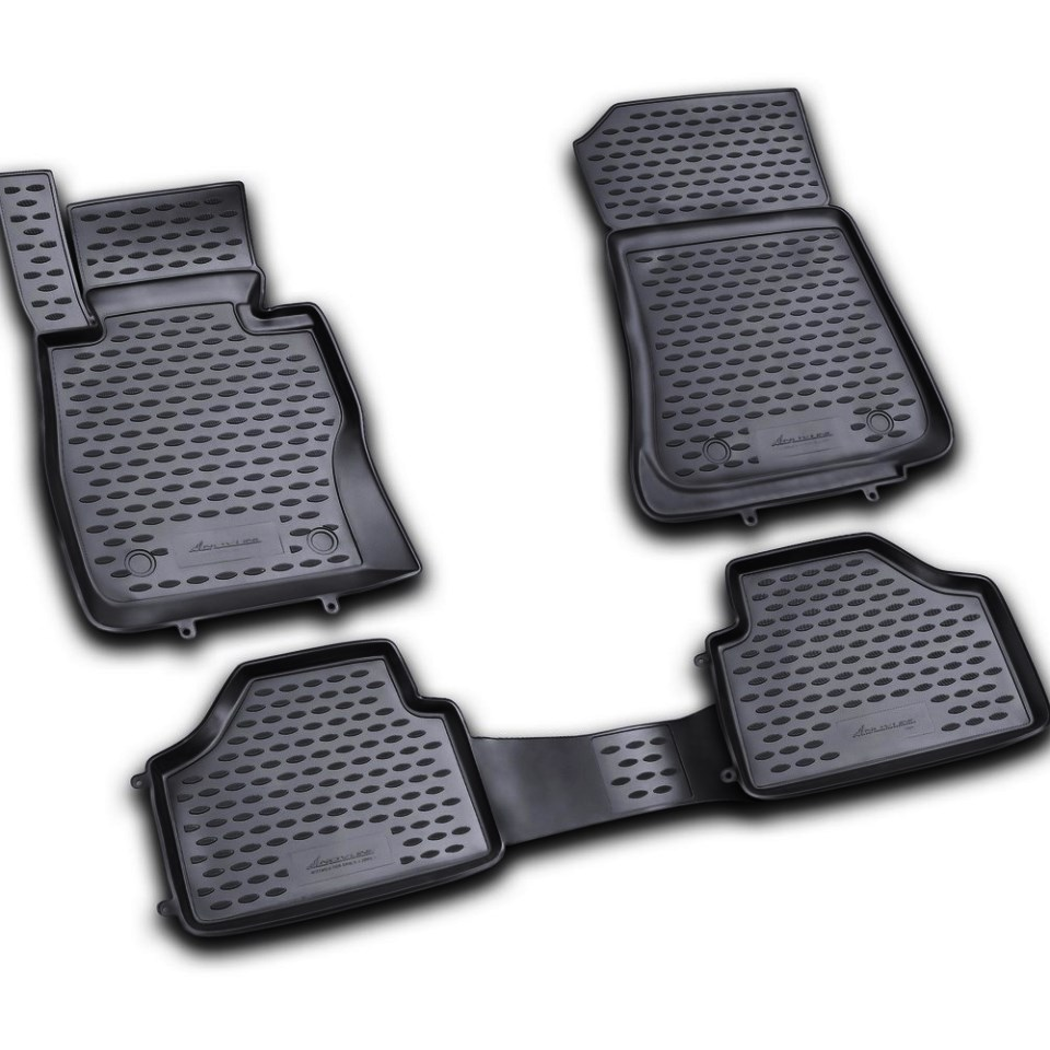 For BMW X6 E71-E72 2009-2014 floor mats into saloon 4 pcs/set Element NLC0518210K fast shipping 2pcs set led marker angel eyes kit for bmw e90 saloon e91 touring no canbus error