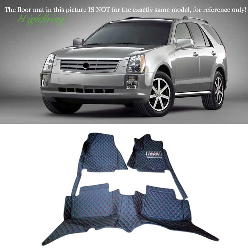 Interior Accessories Floor Mats Protective Carpets Foot Pad For Cadillac SRX 2010 2011 2012 2013 2014 2015