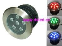 Free shipping by Fedex IE! high power 18W RGB LED spotlight,8pcs DS 11S 17 18W RGB + 2 RGB controller DS 301 + 2 150W/24V driver