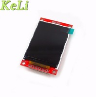 Free Shipping 1pcs New 2 2 Serial SPI TFT Color LCD Module Display 240X320 W PCB