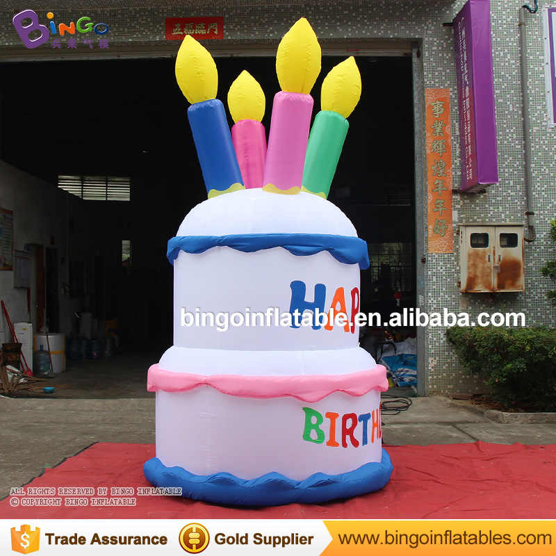 Terrific Free Delivery 3 Meters Tall Giant Inflatable Birthday Cake Replica Funny Birthday Cards Online Unhofree Goldxyz