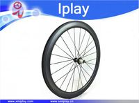 50mm dimple surface wheelset 404 tubular road bike carbon wheel 700C road bike carbon wheelset with Powerway R36 carbon hubs