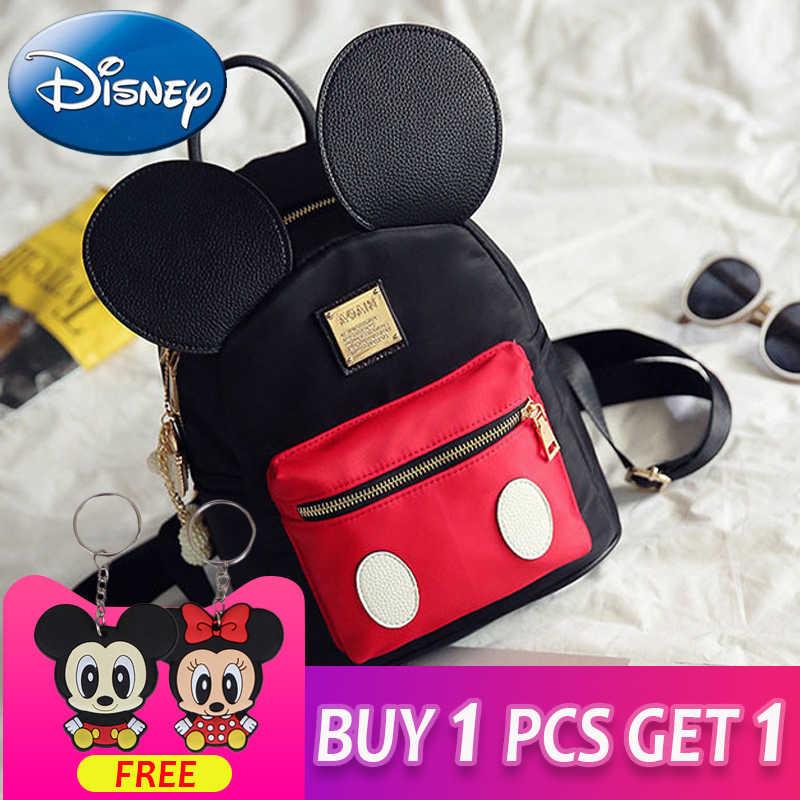 81370029fd9 2019 New Kids Mickey Mouse Shape Girls Backpack School Bags Cartoon Children  Cute Nursery Kindergarten Fashion