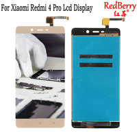 For Xiaomi Redmi 4 Pro Lcd Screen Redmi 4 Display Screen Tested Touch Screen Replacement For