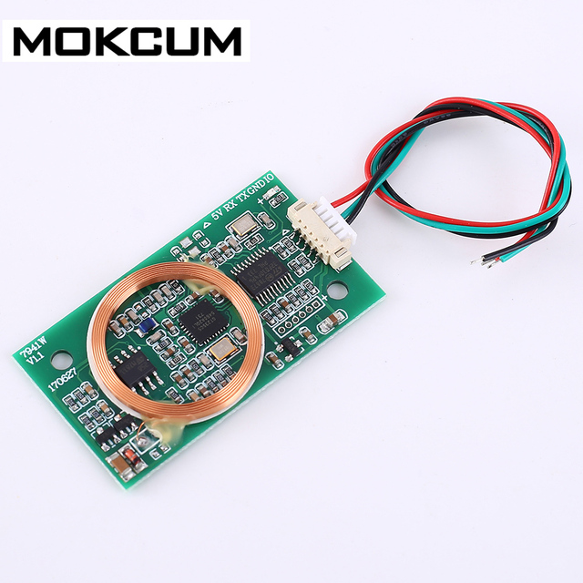 DC 5V RFID Wireless Module UART 13.56MHz 125KHz for IC/ID/ Card Dual Frequency Read Write For Arduino