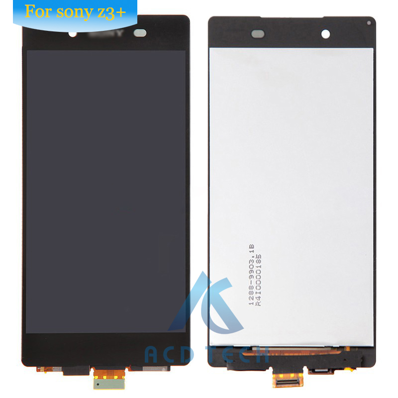 For Sony Xperia Z4 dual Z3+ E6533 E6553 Touch Screen Digitizer Assembly with Adhesive + tools,Free shipping