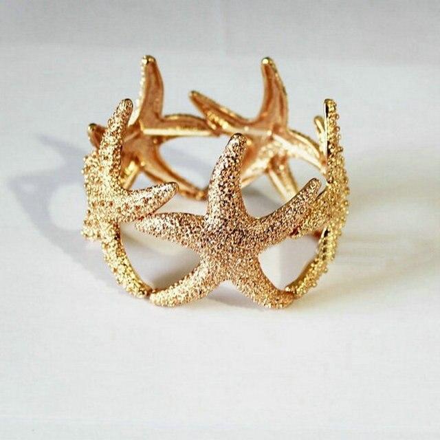 Starfish Bangle Bracelet...