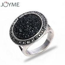 Antique ring New Hot Black Broken