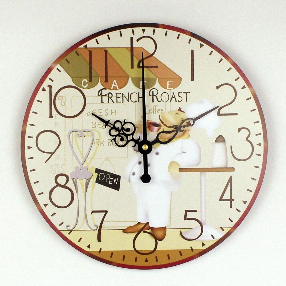 De Dibujos Animados Grandes Decorativos Mas Silencioso Reloj De