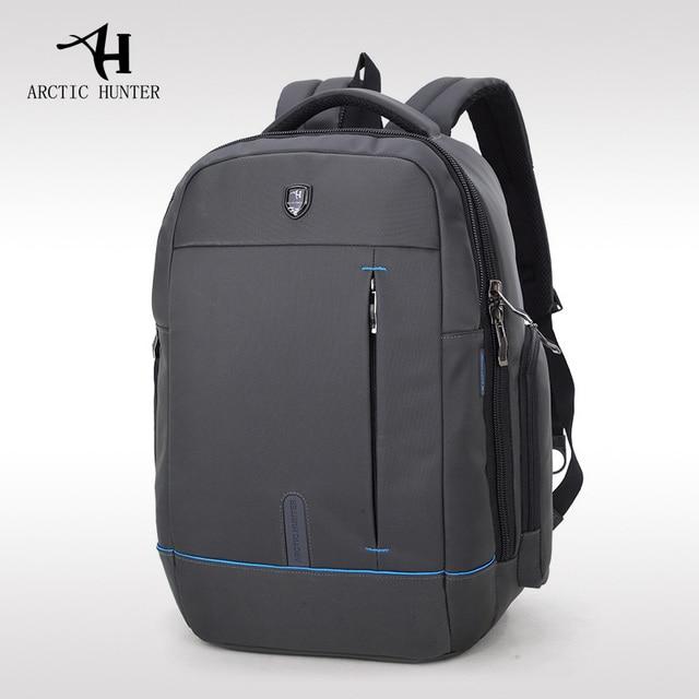 f999407084 ARCTIC HUNTER Waterproof School Backpack Bag For College Simple Design Men  Casual Male New Backpack Casual Men Travel Laptop Bag
