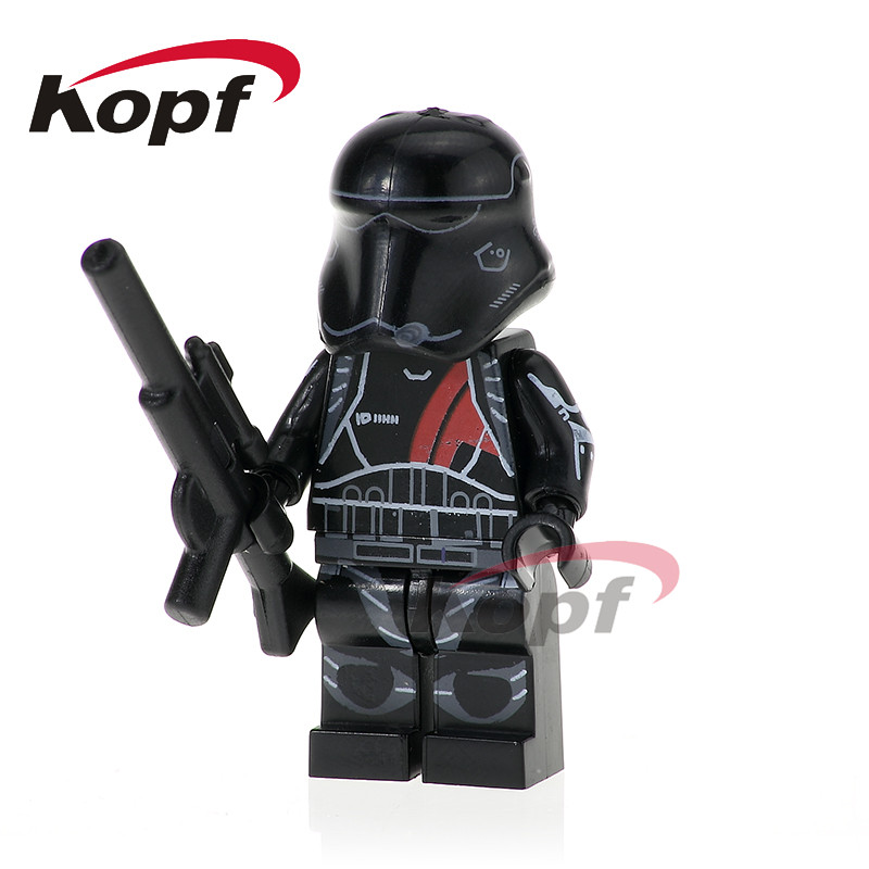 PG776 Star Wars Clone Trooper Figures Imperial Army Military Stormtrooper Commander Building Blocks Model For Children Toys Gift