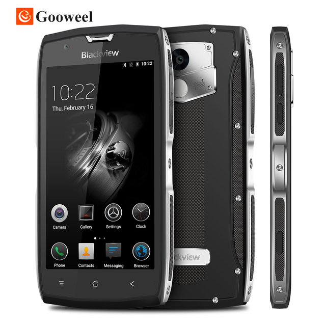 "Blackview BV7000 Pro Smartphone 4G Waterproof IP68 5.0""FHD MT6750T Octa Core Android 6.0 Mobile Phone 4GB+64GB 13MP cell phone"