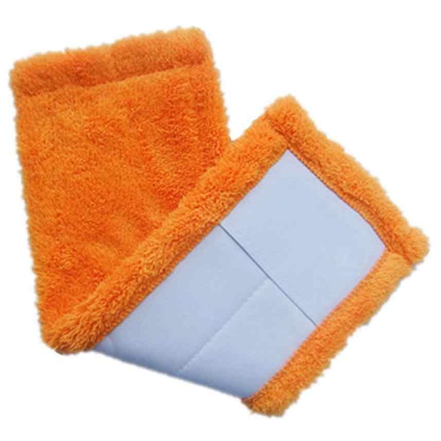 2020 Hot Nieuwe 3 Kleuren Vervanging Microfiber Mop Wasbaar Mop Hoofd Mop Pads Fit Platte Spray Mops Household Cleaning Tools