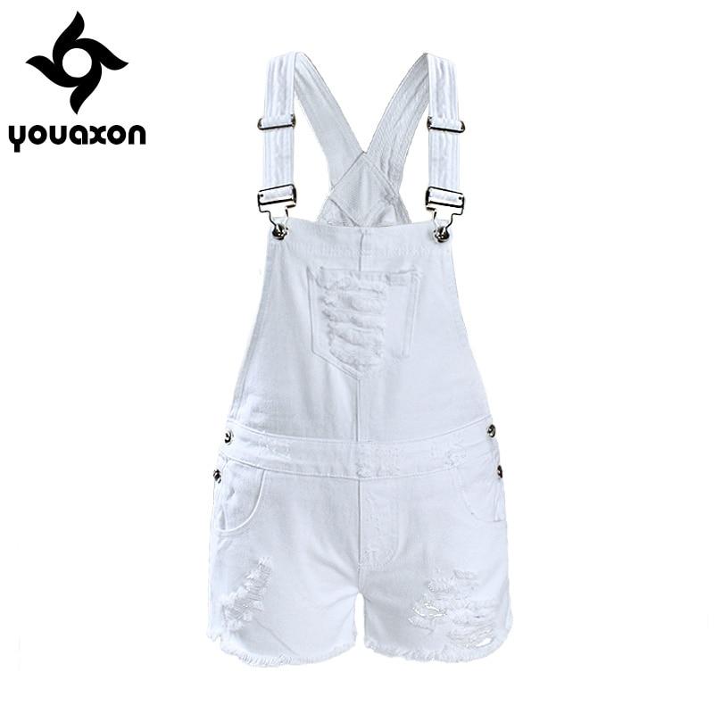 Aliexpress.com : Buy 2017 Youaxon Women`s Ripped Denim Shorts ...