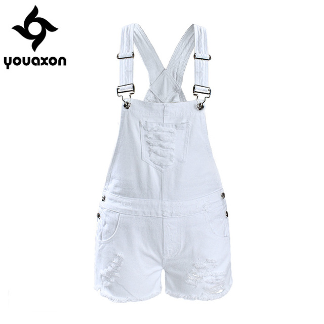 Aliexpress.com : Buy 2017 Youaxon Women`s Ripped Denim Shorts ...
