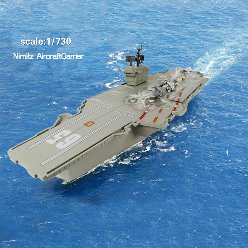 1PC Finished Product Simulation Navigational Model Aircraft Carrier Model Warship Toy Static Aircraft Carrier Model Pendulum