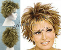 Synthetic wigs newest fashion gold blonde  Short hair Wigs free shipping