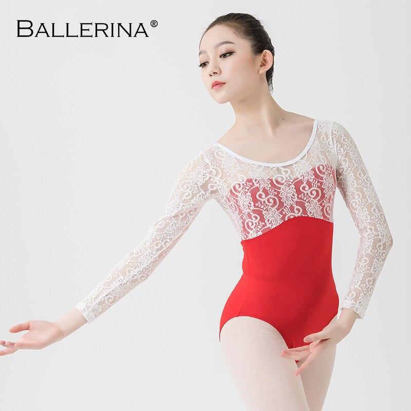 Ballet Leotard For Women Yoga Sexy Lace Dance Leotard Gymnastics Leotards Girls Leotard Ballet Costumes Ballerina 5835