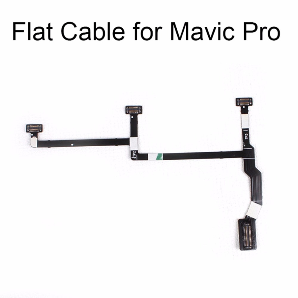 Flexible Flex Flat Ribbon Cable For DJI Mavic Pro Drone Repair Parts Gimbal Camera Signal Cable Repairing Accessory Spare Parts