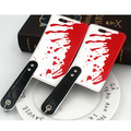Diseño creativo Mejor Regalo Para Halloween cuchillo de Cocina Cubierta de Cuero Cubierta de la Caja del teléfono Para lPhone 6 6 s 6 6 s Plus Teléfono caso
