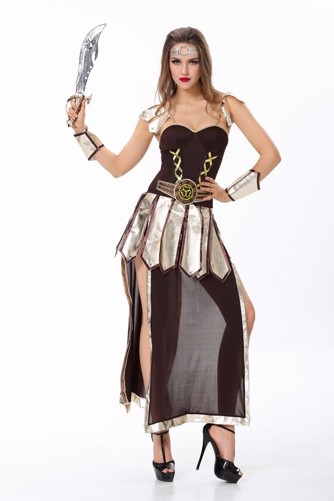 4322855f1a20 Greece Gladiator Costume Halloween Costume For Women Warrior Costumes Sexy  Party Dresses-in Movie U0026 TV Costumes From Novelty U0026 Special Use On  ...