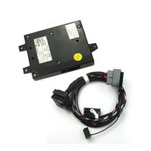 Оригинальный OEM 9w2 модуля Bluetooth + Жгута Кабель Прямая Вилка + Микрофон Fit 1K8035730D RCD510 Радио 1K8 035 730D