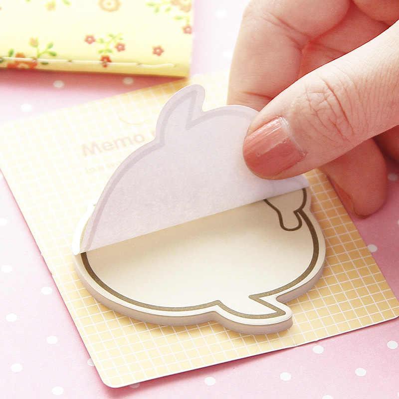 8 шт./лот милые лица memo бумаги выражение наклейки Закладка Post Гостевая книга канцелярские принадлежности Школьные принадлежности F572