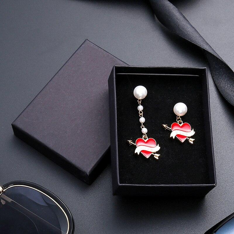 Image 4 - 24Pcs/lot Black Kraft Paper Box Packaging Present Ring Earring  Bracelet Protection Gift Box 9cmx9cm Can Custom Your LogoJewelry  Packaging