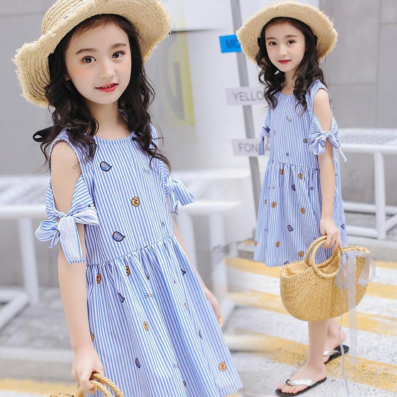 85ee482f0 Girls Black Chiffon Dress Summer Teenage Clothing 10 11 12 13 14 ...