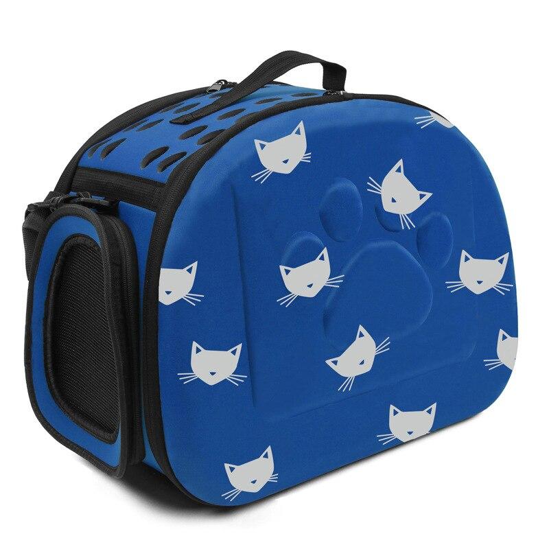 YUYU Cat Carrier Bag Outdoor Dog Carrier Bag Foldable EVA Pet Kennel Puppy Dog Cat Outdoor Travel Shoulder Bag for Small Dog