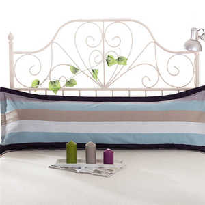 Image 5 - Comfy Home Print Pillowcases Long Body Double Pillow Cover Protector Simple No Fade 100%Cotton  Pillowcase