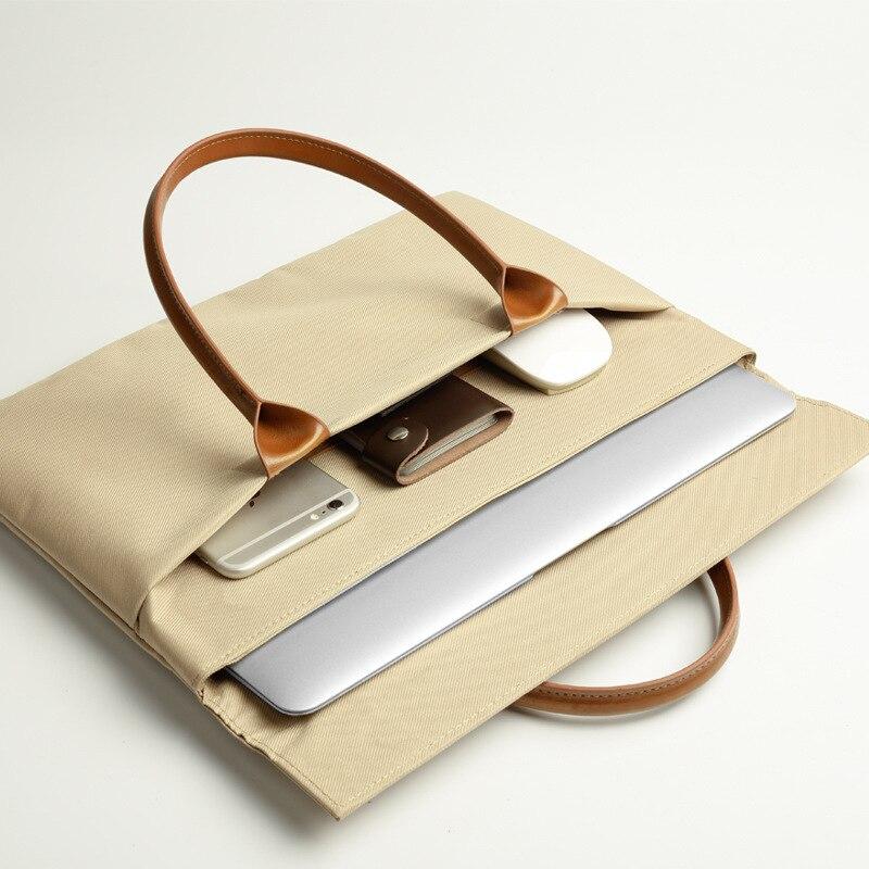 High Quality For Apple Lenovo Notebook FOR macbook12 computer bag 11Air13Pro15 inch handbag liner 14 men women universal
