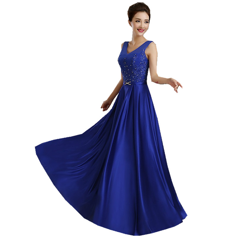 67f1b9da24831 2017 Black Party Lace Royal Blue Red Vestido Longo Long Formal ...