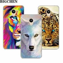 Фотография Cool Animals Case For Meizu M5C M3s M5s M3 M5 M6 Mini Note Soft TPU Silicone Phone Back Cases Cover For Meizu U10 U20 Pro 6
