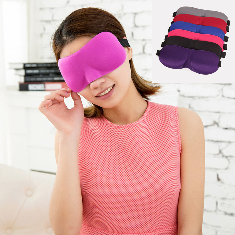 Beauty & Health Special Section 1pc Soft Relax 3d Natural Sleeping Eye Mask Sleep Padded Cover Portable For Travel Rest Blindfold Eyepatch For Women Men The Latest Fashion
