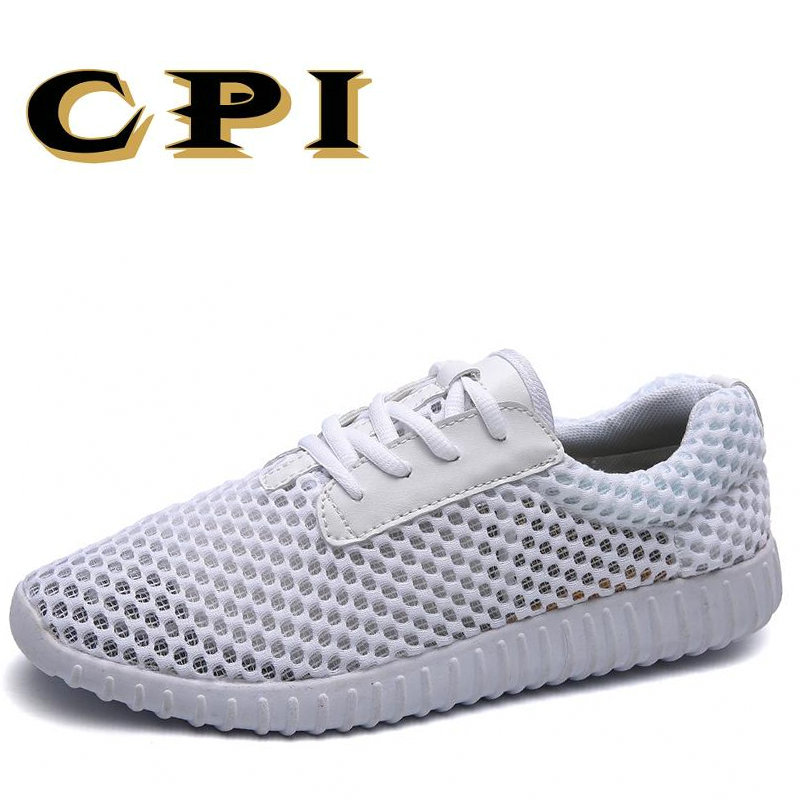 CPI 2018 New Men Shoes 2018 Summer Fashion Sneakers Breathable Casual Shoes Lace Up High Quality Sneakers Men Mesh Shoes VV-02