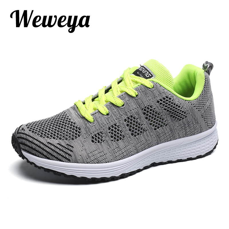 Weweya Brand Summer Breathable Men Sneaker Shoes Mesh Casual Shoes Classic Lace Up Comfortable Shoes For Walk Sneakers For Men