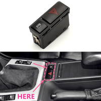 New Hazard SI A0022 Warning Door Central Lock Locking Switch For BMW E46 E53 E85 325