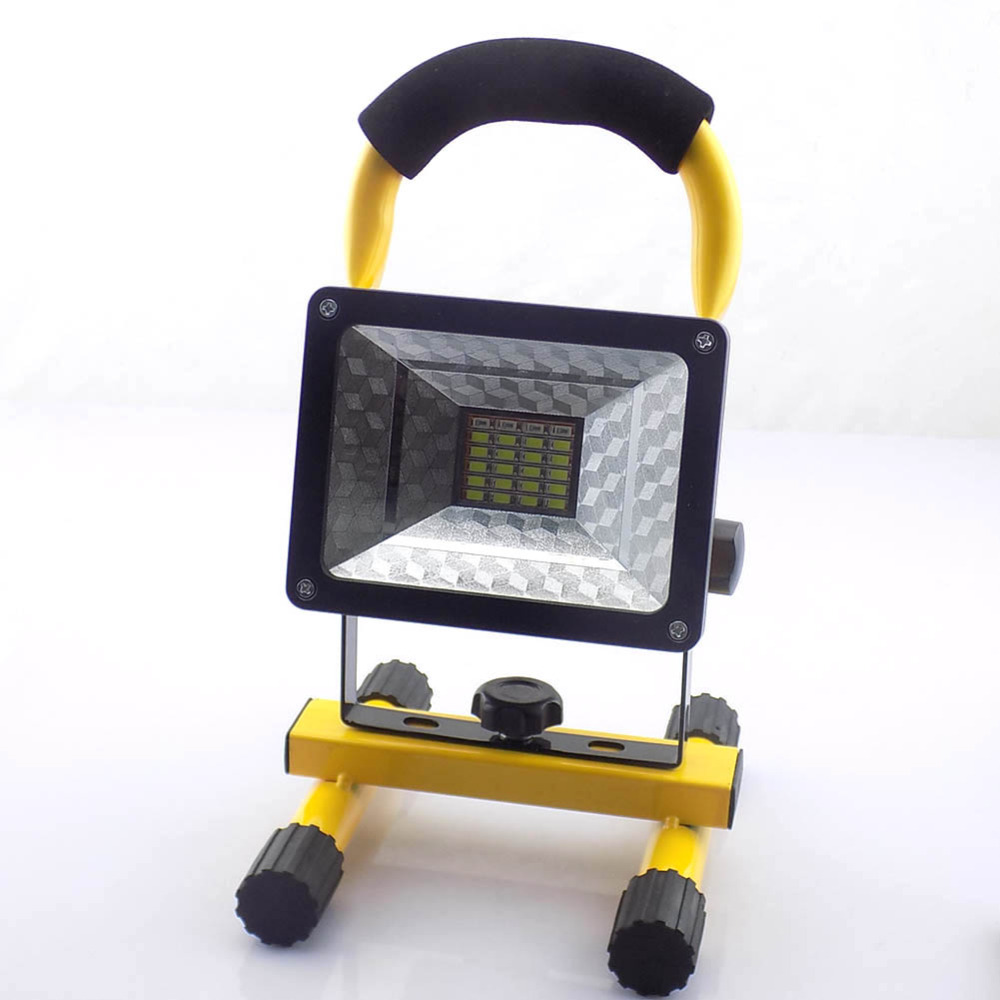 Channellock Led Rechargable Cordless Work Light Shop: LED Rechargeable Floodlight Red Blue Emergency Flash Light