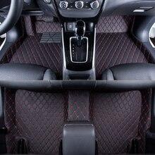 WLMWL Car Floor Mats For Renault all models logan scenic fluence duster megane captur laguna kadjar Carpet Covers floor mats