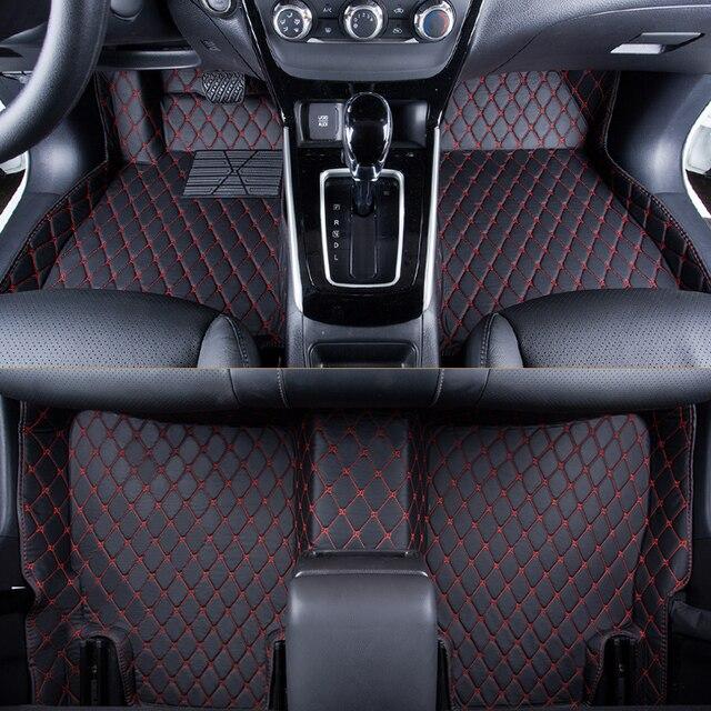 WLMWL Car Floor Mats For Renault all models logan scenic fluence duster megane captur laguna kadjar Car Carpet Covers floor mats