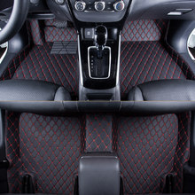 WLMWL Car Floor Mats For Renault logan scenic fluence duster megane captur laguna kadjar all models Car Carpet Covers floor mats(China)