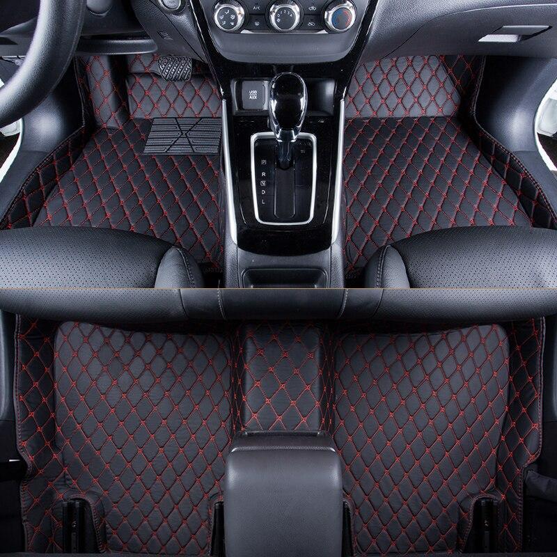 WLMWL Voiture Tapis De Sol Pour Renault tous les modèles logan scenic fluence duster megane captur laguna kadjar Voiture Tapis Couvre Floor tapis