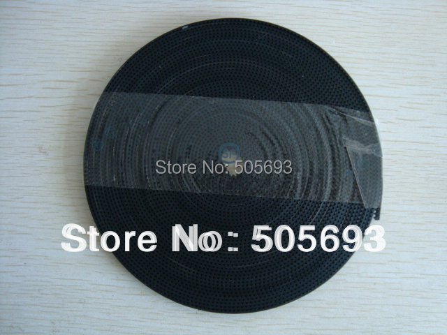 free shipping gt2 Open Timing Belt 6mm width 100m length lot
