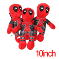 3pcs/lot 25cm Marvel Deadpool Stuffed Plush Toys Doll Movie Super Hero Mutants Soft Figure Toy Gift Wade Winston Wilson X-men