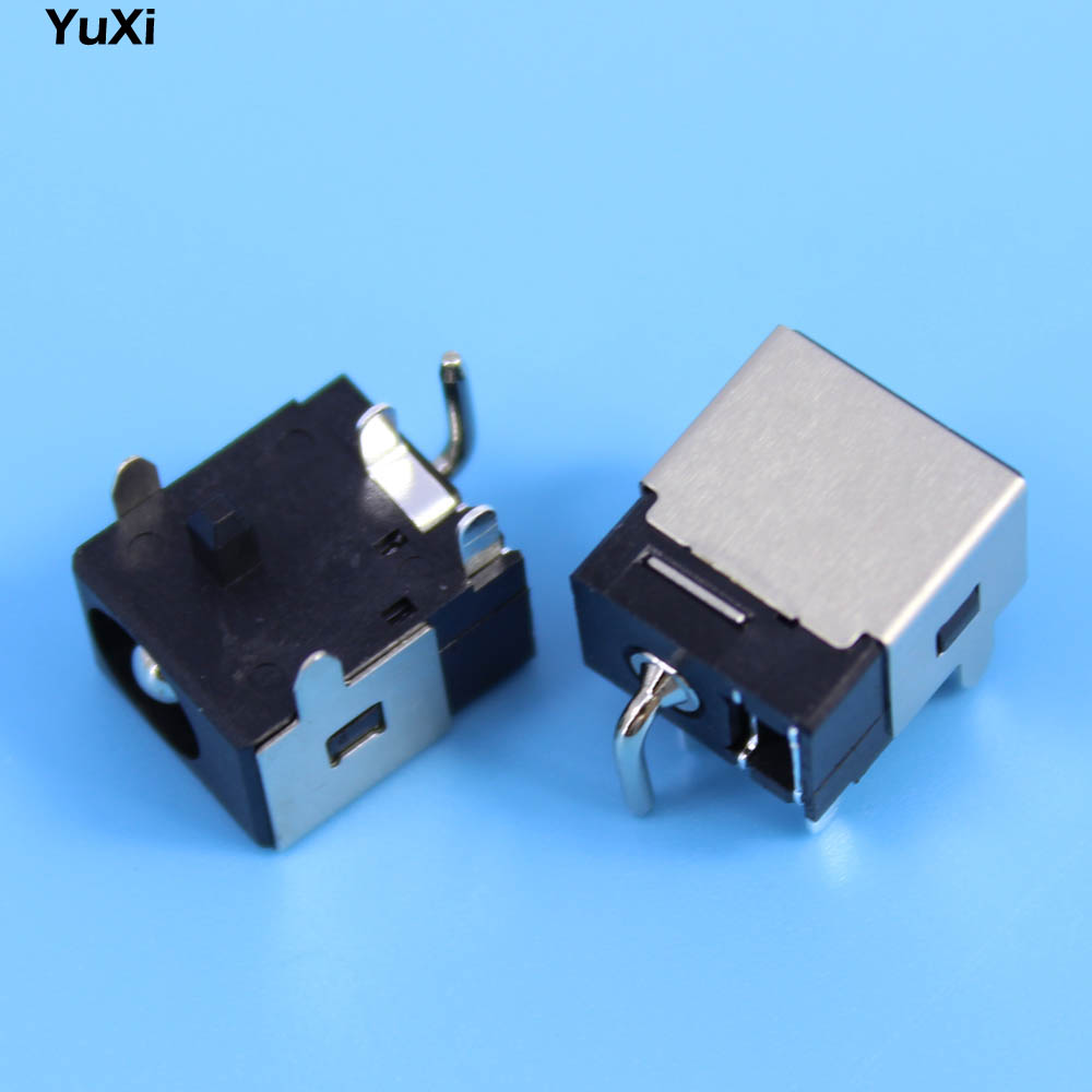 Yuxi Novo 25mm Laptop Dc Power Jack Sockets Para Asus N53 Samsung Q430 Port Socket Connector Wire Harness Cable K73 K73e K73s K73sd K73sv X73s N53j N53sv N53jf Conector