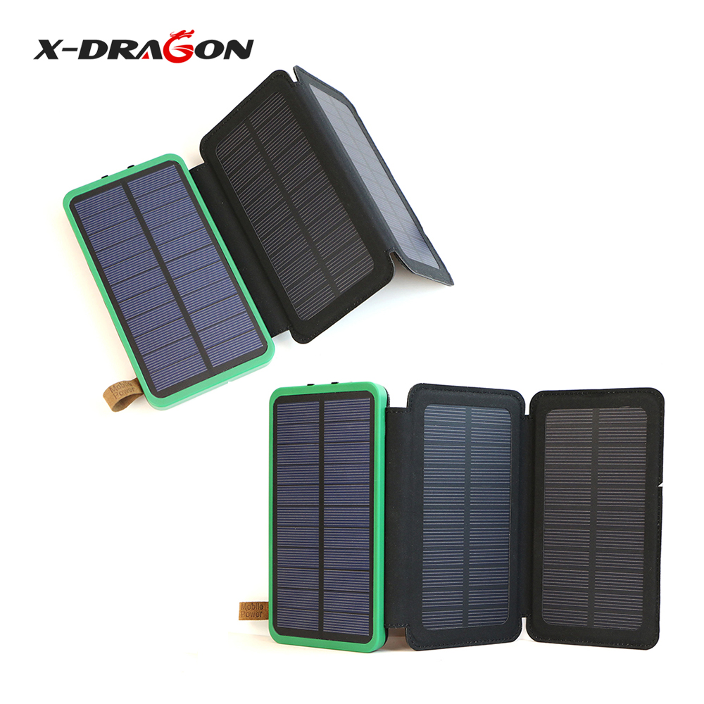 X Dragon Portable Solar Charger 10000mah Solar Battery