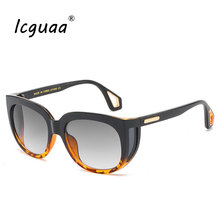 Fashion Cool Windproof Shield Style Side Lens Sunglasses Wom