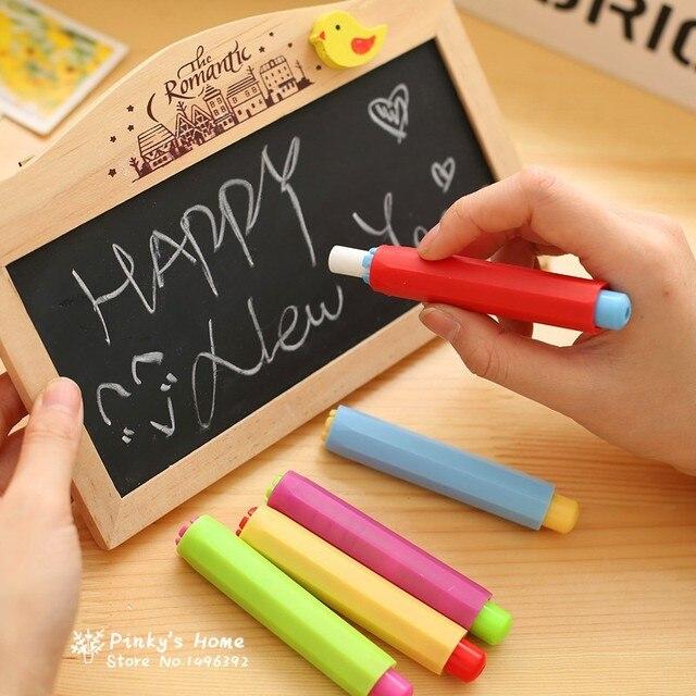 (3 шт. Clean Chalk держатель + 1 шт. мел держатель) держатель мела Клип Номера для очистки от пыли преподавания карандаш на доске